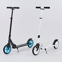 Самокат для взрослых SPORTS (металл, колесо-PU, d-200мм, р-р платформы см, АВЕС-, цвета в ассортименте)