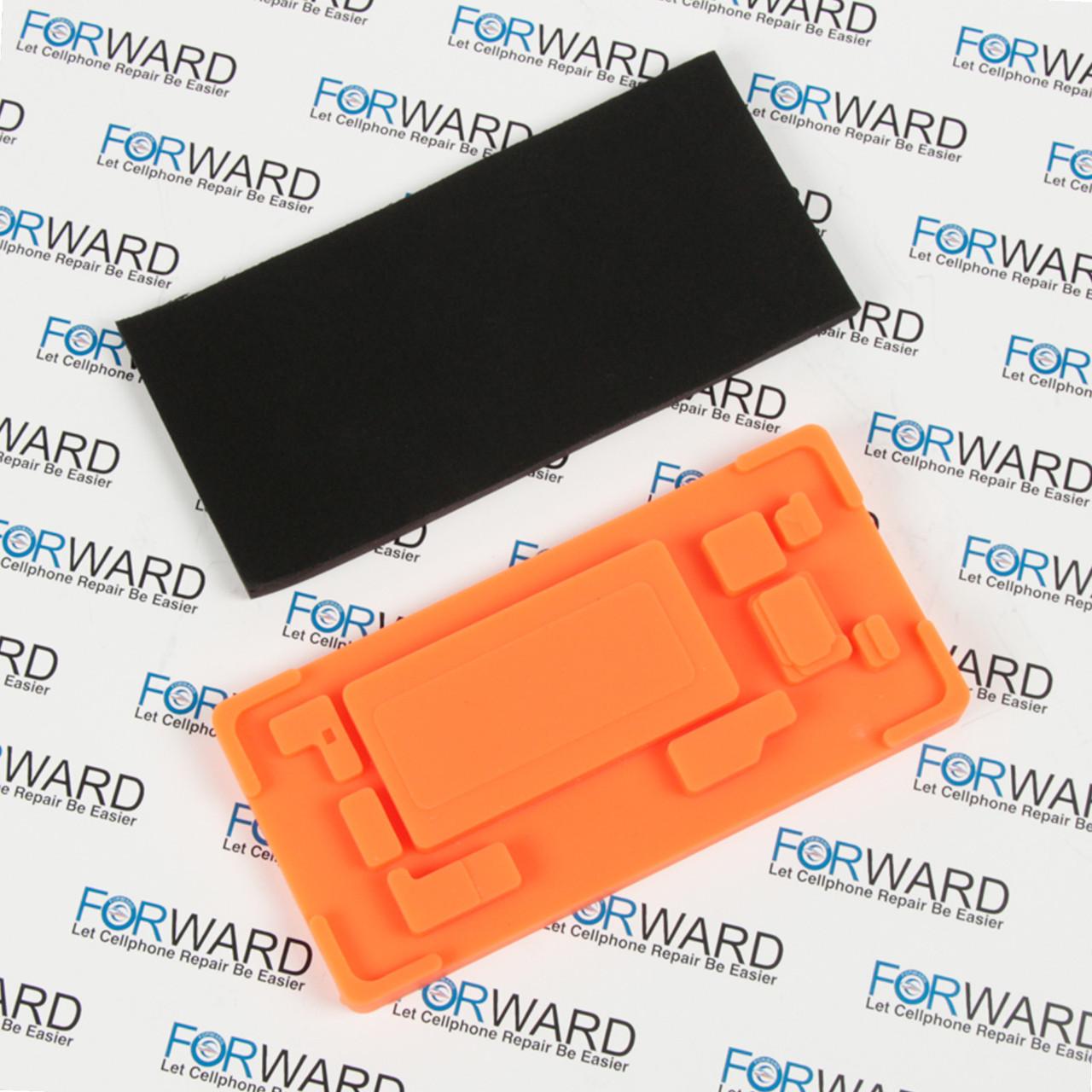 Формы для фиксации дисплея Samsung Galaxy S8+, G955F силикон и пористая резина