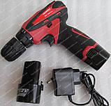 Шуруповерт акумуляторний Nordex CDS 1500/12Li (набір інструменту), фото 4