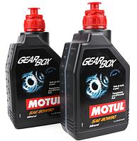 Масло в мост 80W90 Gearbox (1L) (105787/100099) (API GL4/GL5/MIL-L-2105D) MOTUL 317201