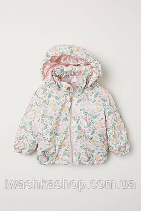 Демисезонная легкая куртка на девочку 1,5 - 2 лет, р. 92, H&M