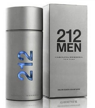Carolina herrera 212 men (edt 100 ml), фото 3