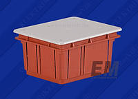 Коробка распределительная внутр. 120x100x70 Elettrocanali оранжевая IP40 (EC360C3)