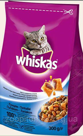 Сухой корм для кошек Whiskas (Вискас) с тунцом, 14 кг