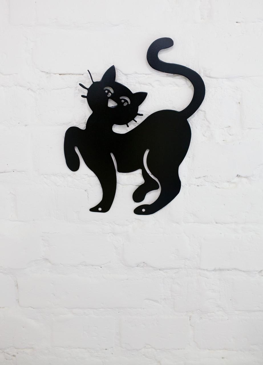 Декоративний кіт на стіну