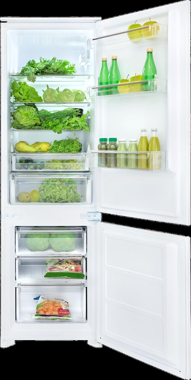 Встраиваемый холодильник с морозильником Kernau KBR 17132