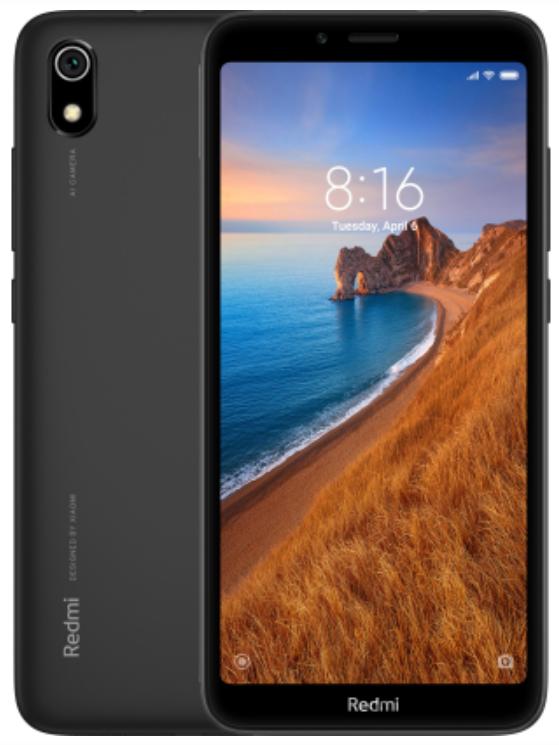 """Xiaomi Redmi 7A Matte Black 2/16 Gb, 5.45"""", Snapdragon 439, 3G, 4G (Global)"""