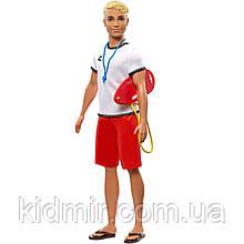 Лялька Барбі Кен Рятувальник Кар'єра Barbie Careers Ken Lifeguard FXP04