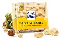 Белый шоколад Ritter Sport Weisse Voll-Nuss 100г. Германия