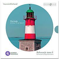 Финляндия 2011. Официальный годовой набор монет