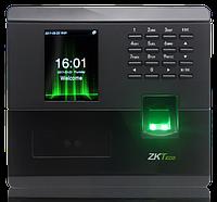 Устройство учета рабочего времени по лицу и отпечатку с реле ZKTeco MB10