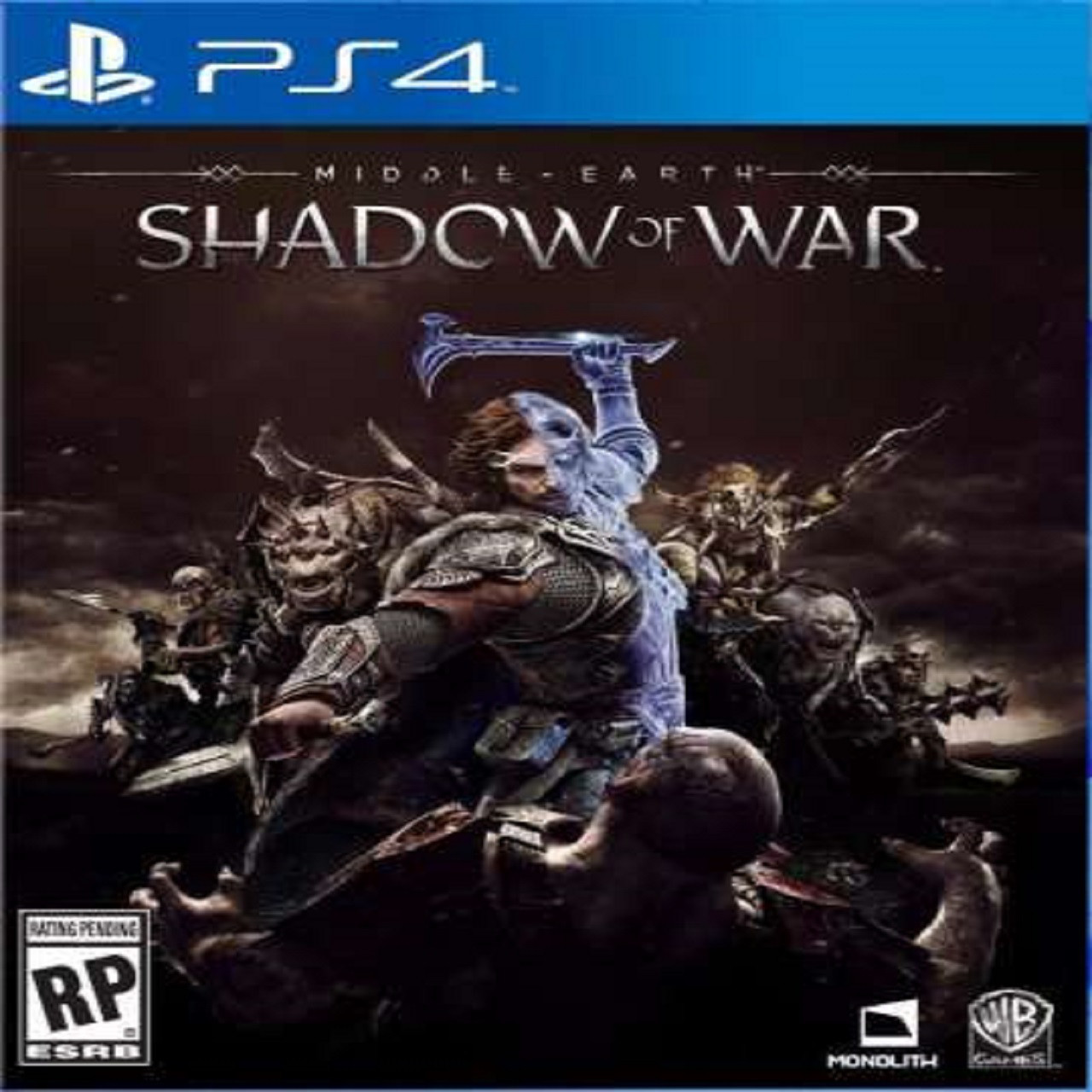 Middle-Earth:Shadow of War RUS PS4