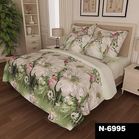 """6995 Полуторный набор постельного белья ранфорс ТМ """"Pretty"""", фото 2"""