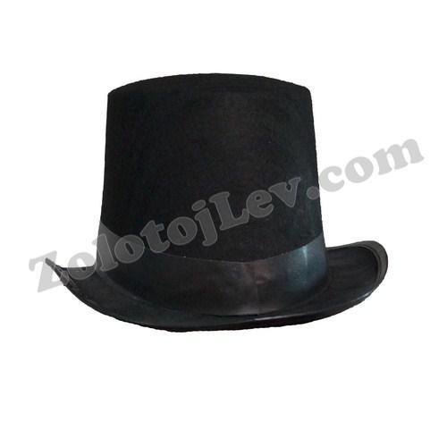 Шляпа цилиндр для взрослого