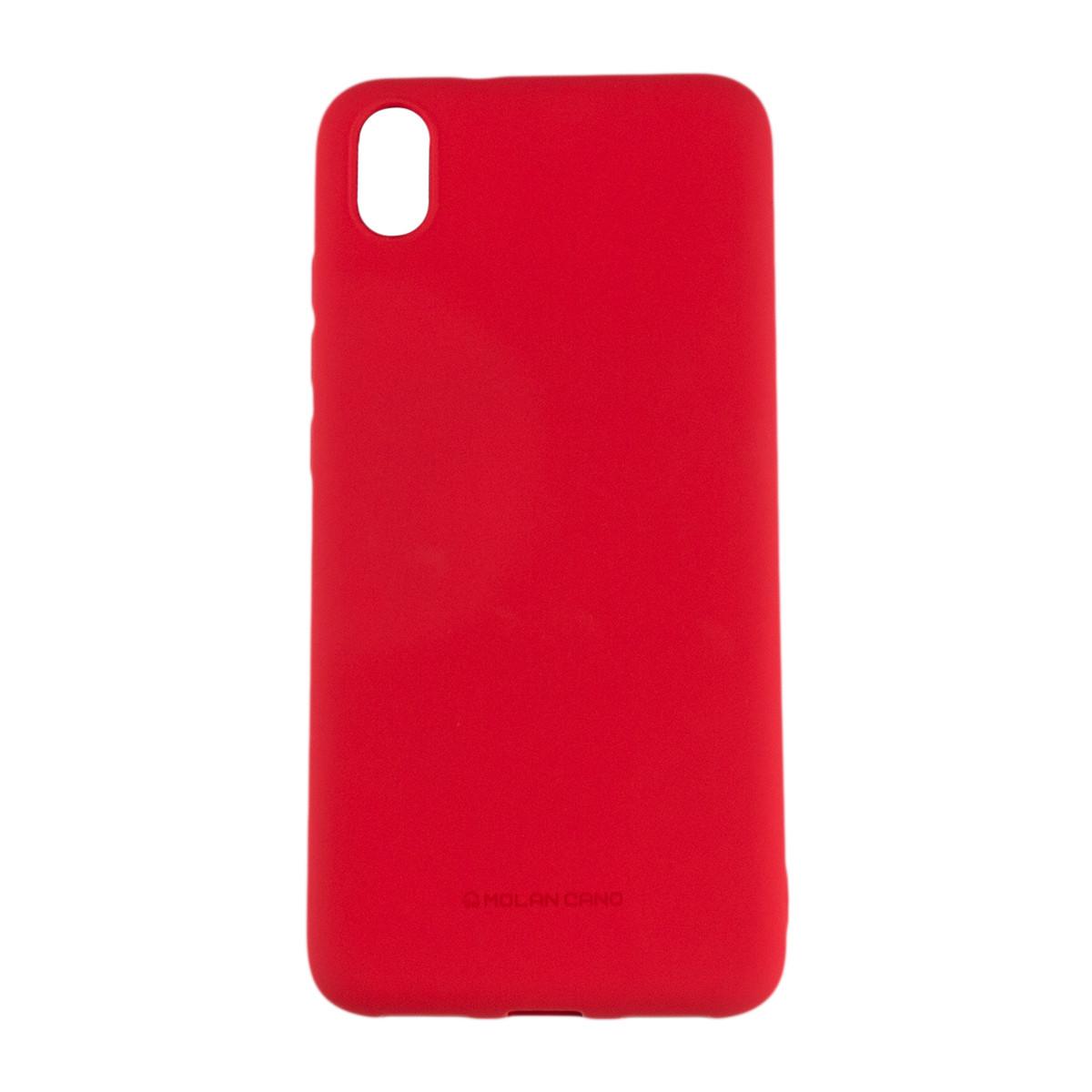 Оригинальный силиконовый чехол Molan Cano Jelly Case для Xiaomi Redmi 7A (красный)