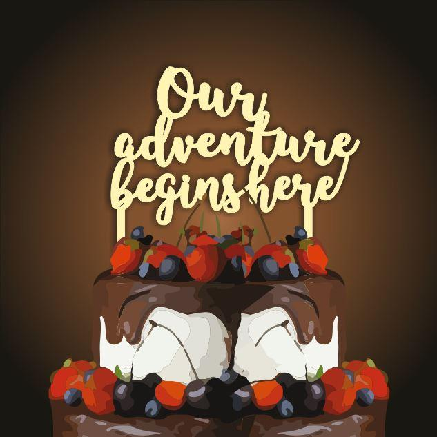 Топпер our adventure