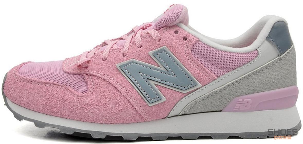 Женские кроссовки New Balance WR996ACP Pink, Нью беланс 996
