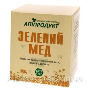 Зелёный мед- Натуральный мед и микроводоросль спирулина