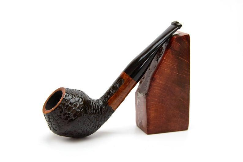 Курительная трубка из бриара Bulldog ручной работы прямоток