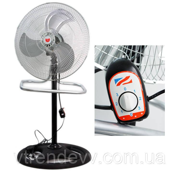Вентилятор металлический мощный CHANGLI CROWN FS4521 3 в 1