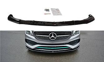 Сплиттер Mercedes CLA C117 AMG (2017+) тюнинг элерон
