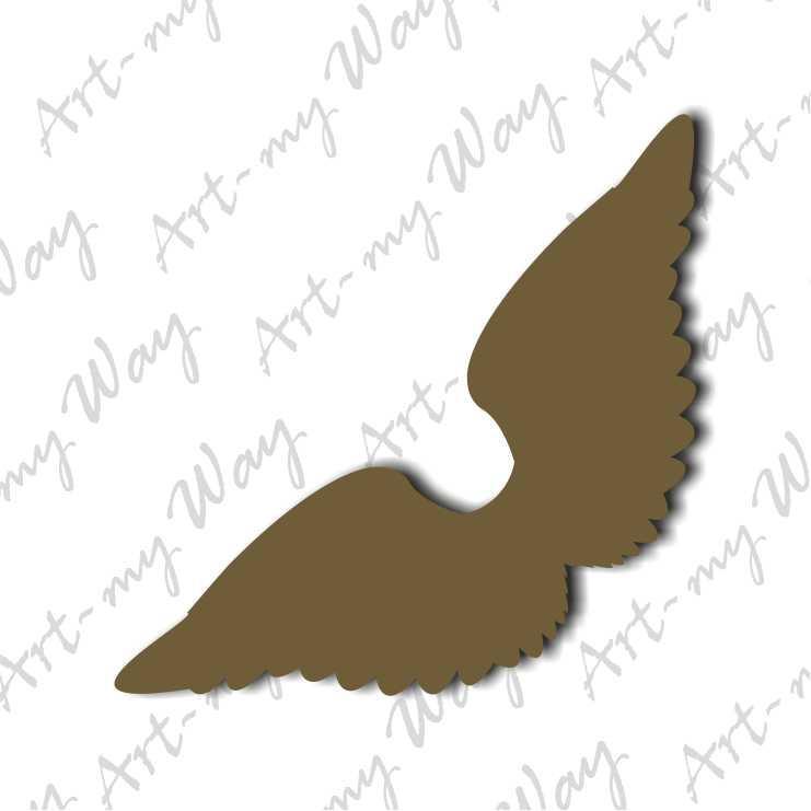 Декор - крылья ангела 1-5см