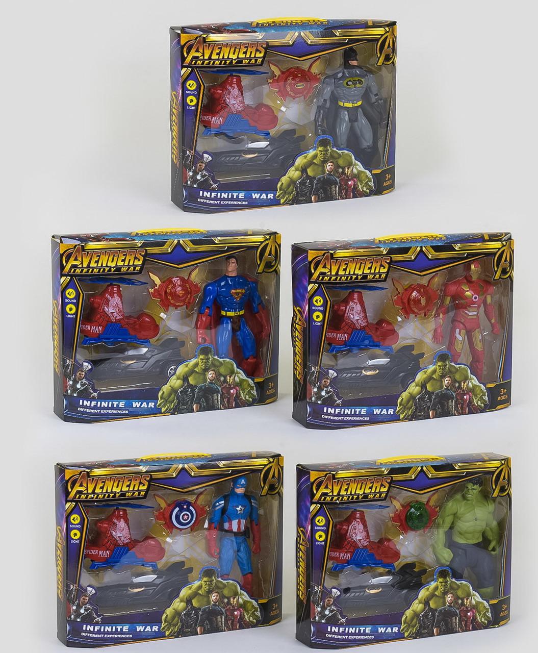 Герої Марвел Avengers зброю-браслет з світлозвуковими ефектами