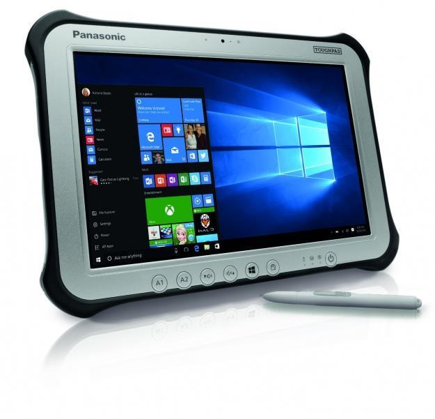 Планшет Panasonic TOUGHPAD FZ-G1 10/ Intel i5-6300U/4/128/HD5500/BT/WiFi/LAN/W10Pro