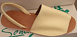 Босоножки женские на низком ходу из натуральной кожи от производителя модель ЛИН801, фото 3