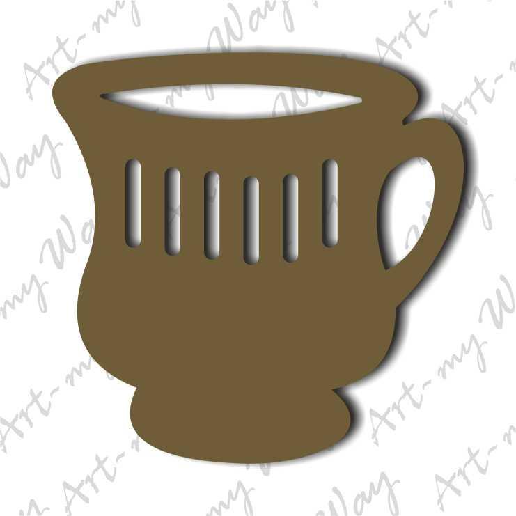 Декор -Чашка 4-10см