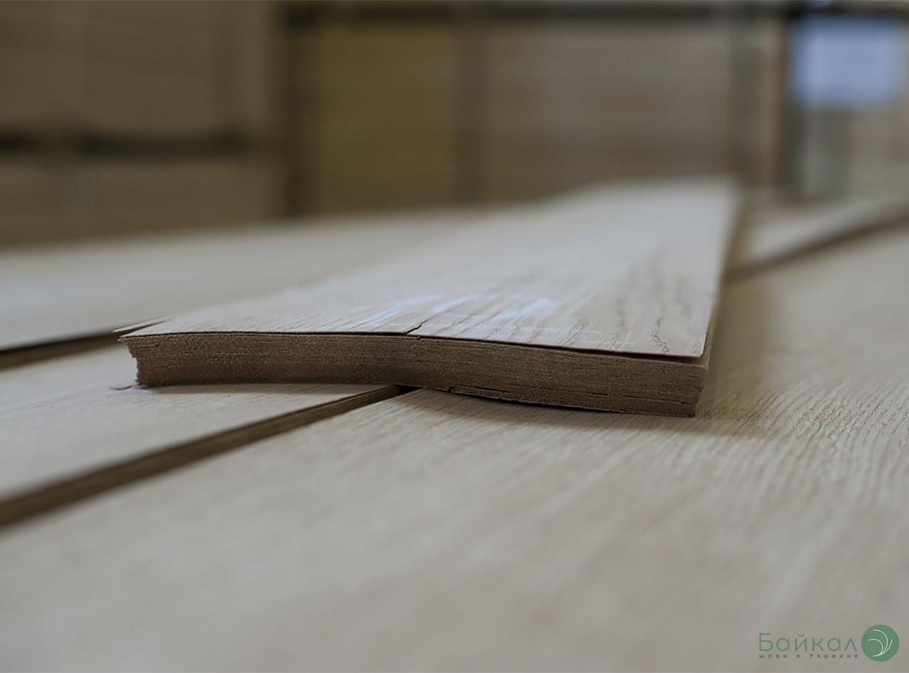Шпон Дуб (строганный) 0,55 мм А сорт - 2,10 м+/12 см+