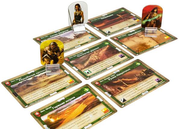 Настольная игра Подземелье: Драконы беспощадной пустыни (Підземелля: Дракони нещадної пустелі), фото 2
