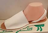 Босоножки женские на низком ходу из натуральной кожи от производителя модель ЛИН803, фото 2