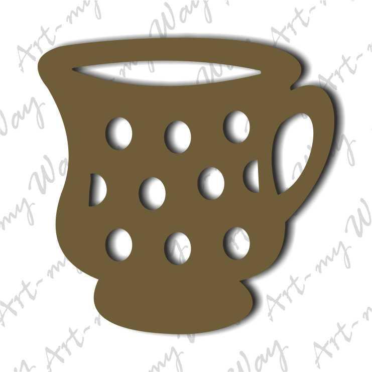 Декор -Чашка 1-5см