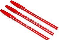 """Ручки шариковые """"AIHAO"""" (50шт/уп) красные, фото 1"""