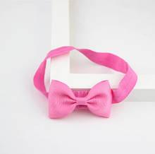 Детская розовая повязочка на голову