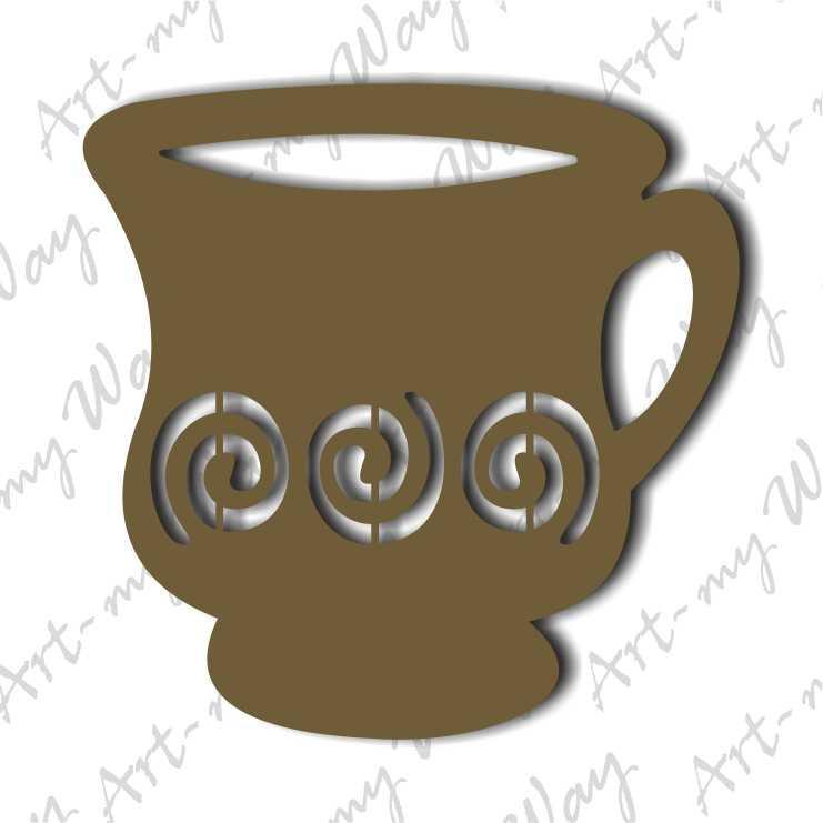 Декор -Чашка 2-10см
