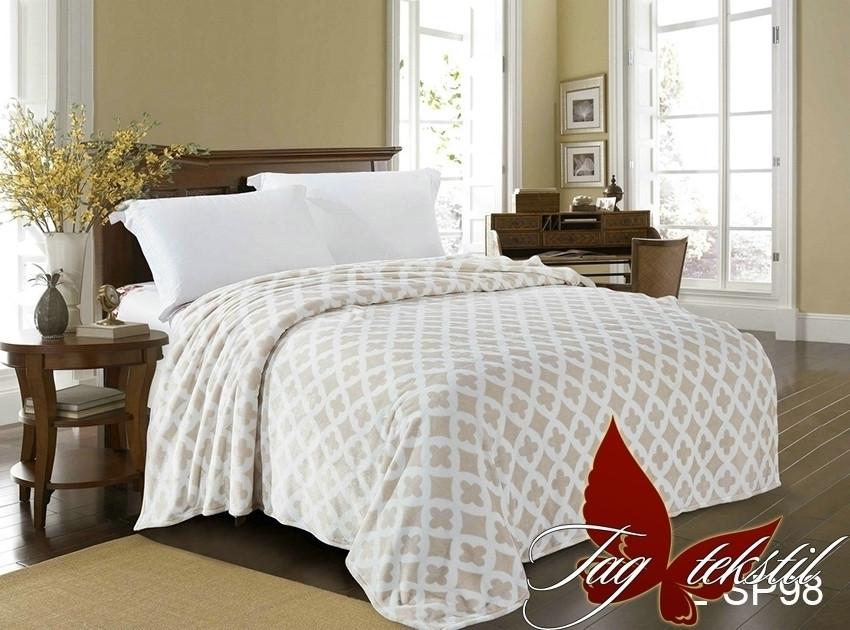 Плед покрывало 160х220 велсофт Радость на кровать, диван