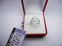 """Серебряное кольцо """"Корона"""". Размер 18,5 НОВОЕ"""