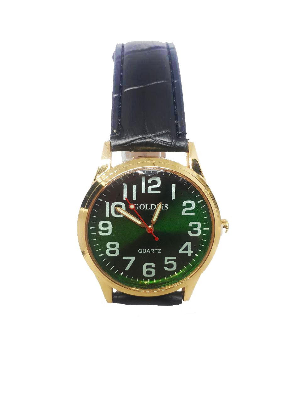 Часы кварцевые мужские Goldis 0023 Зеленый