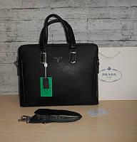 Сумка портфель мужская Prada (Прада),кожа, Италия