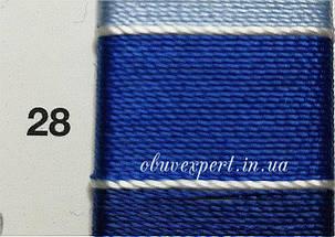 Швейная нить Gold Polydea 60 № 28, цв. синий, фото 2