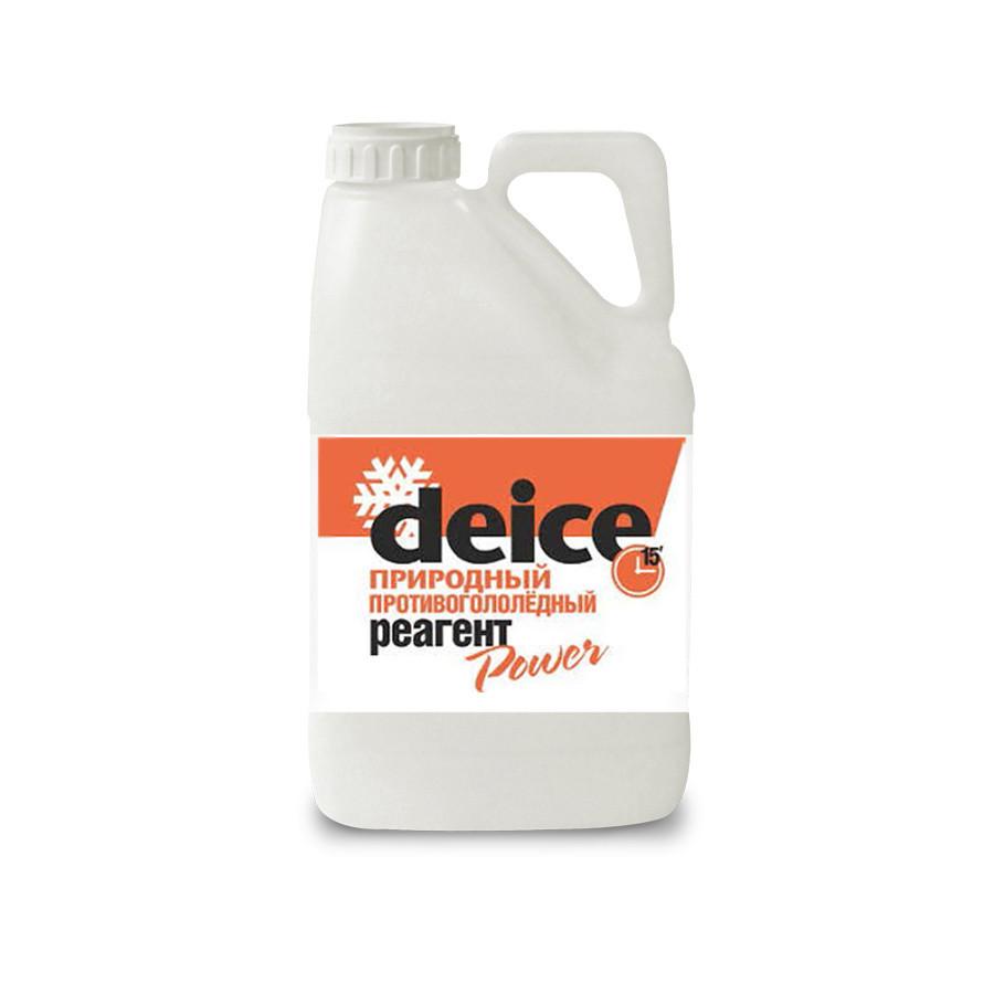 Противогололедные реагенты Deice Power жидкий - 4 л.