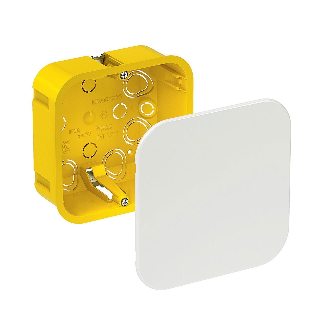 Установочная коробка для полых стен Schneider IMT35161 100x100x50мм