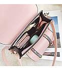 Рюкзак портфель с блестящим глиттером розовый HLDAFA (AV102), фото 6