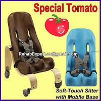 Кресло Special Tomato Sitter Size 3 c деревянной мобильной базой