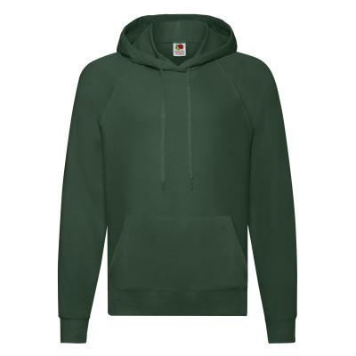 Кенгурушка модна молодіжна бавовняна темно-зелена (пляшкова) - S, M, L