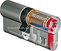 Цилиндр DOM Diamant K6 99 мм 42/57C NI ключ/поворотник , фото 3