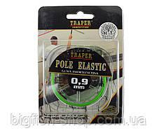 Штекерная резина Traper Pole Elastic 0.9 мм. (зеленая)