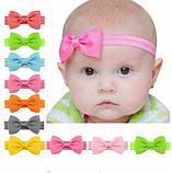 Детская синяя повязочка на голову, фото 2